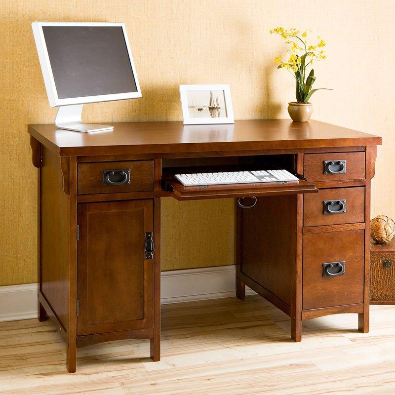 traditional style secretary desk - 736×736
